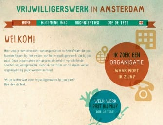 Webportal Vrijwilligerswerk in Amsterdam online