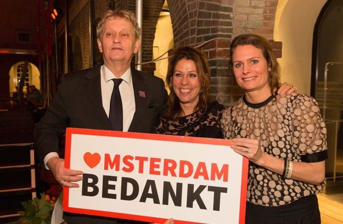 Burgemeester van Amsterdam bedankt alle vrijwilligers