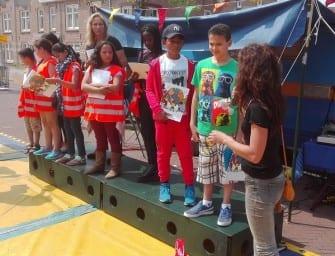Kinderraad in de Vreedzame Volewijck presenteert magazine vol goede daden