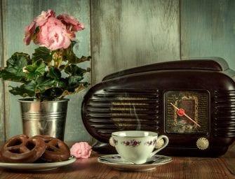 Luister naar radio-uitzending over een veilige organisatie