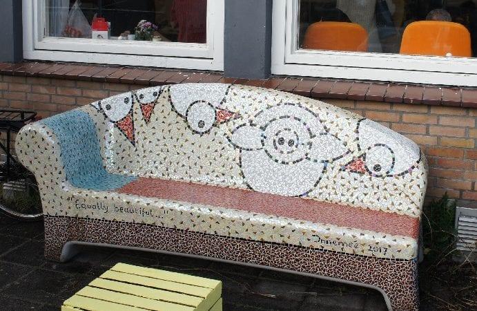 Een Social Sofa cadeau voor de stad!