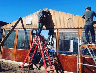 Flexibel aan de slag: bouw mee aan een strandpaviljoen