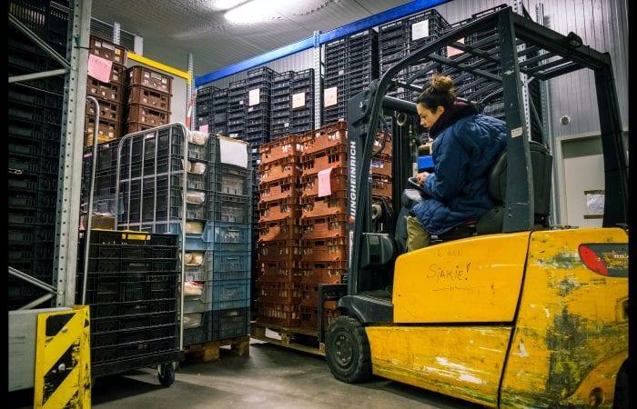 Fotostrip: Lise bij de Voedselbank