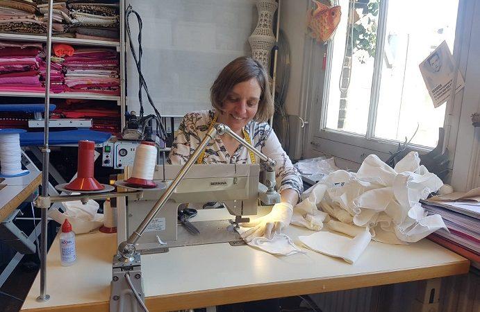 Vijfduizend mondkapjes naaien in een week tijd