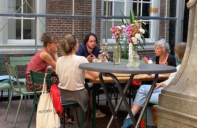 Zomers vrijwilligerscafé in Centrum