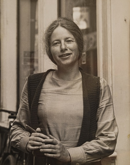 Jette de Rooij in 1972