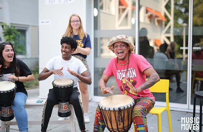 Music Moves: voor changemakers in de muziek